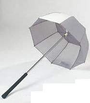 Picture of GOLF BAG UMBRELLA in Silver