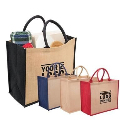 Picture of ECO FRIENDLY JUTE TOTE BAG