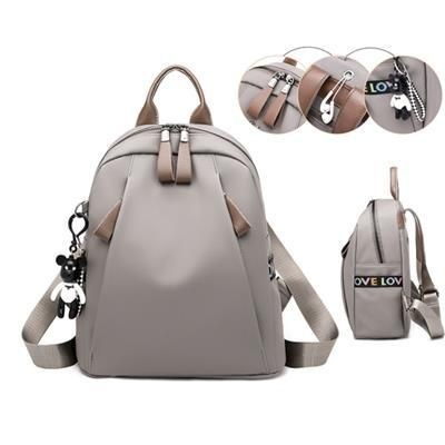 Picture of LEATHER NYLON BACKPACK RUCKSACK