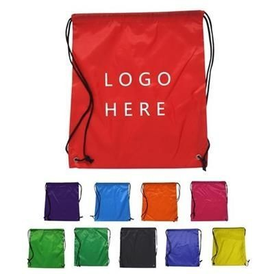 Picture of REFLECTIVE STRIPE DRAWSTRING BACKPACK RUCKSACK
