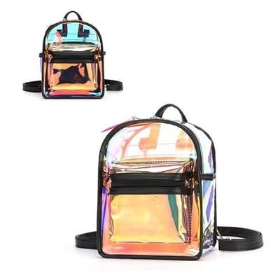 Picture of CLEAR TRANSPARENT PVC WATERPROOF BACKPACK RUCKSACK