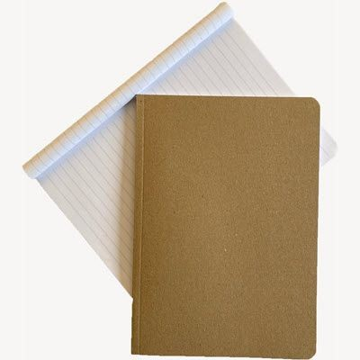 Picture of KRAFT-E RECYCLED FLEXI A5 NOTE BOOK