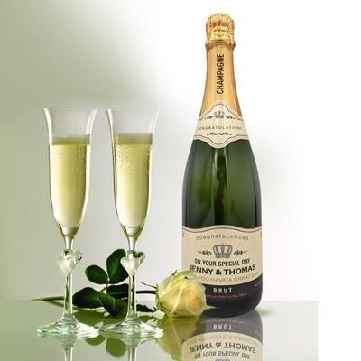 Picture of PERSONALISED CHAMPAGNE GIFT 750ML