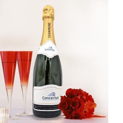 Picture of CORPORATE BRANDED CHAMPAGNE 750ML