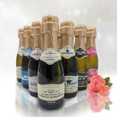 Picture of CORPORATE BRANDED MINI PROSECCO 20CL
