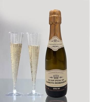 Picture of PERSONALISED MINI PROSECCO 20CL