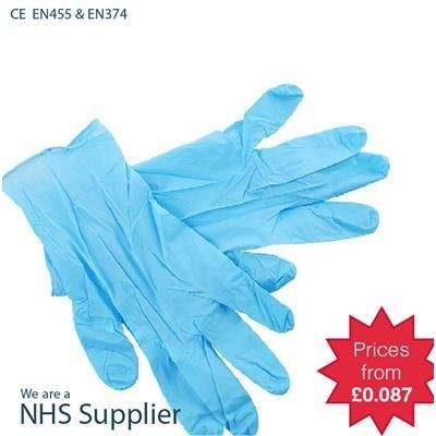 Picture of NITRILE EXAMINATION GLOVES