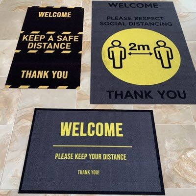 Picture of COVID 19 SAFE DISTANCE FLOOR MAT