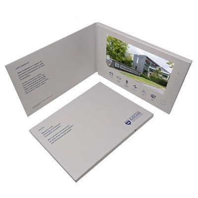 Picture of VIDEO BROCHURE A4 HARDBACK