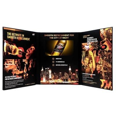 Picture of VIDEO BROCHURE A4 TRI-FOLDING