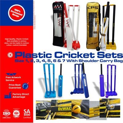 Picture of PLASTIC CRICKET SET