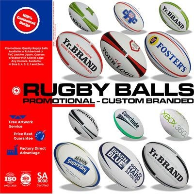 Picture of PROMOTIONAL RUGBY BALL