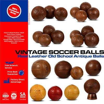 Picture of VINTAGE FOOTBALL BALL